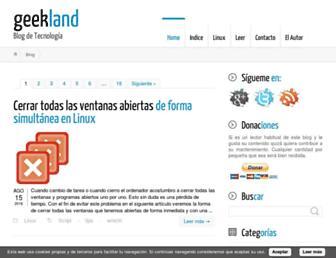 geekland.eu screenshot