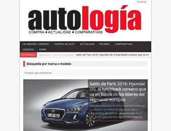autologia.com.mx screenshot