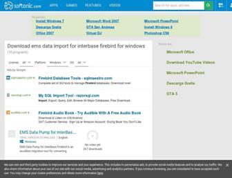 ems-data-import-for-interbase-firebird.en.softonic.com screenshot