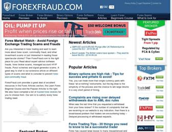 forexfraud.com screenshot