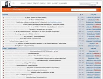 forum.image-line.com screenshot