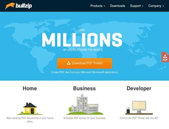 bullzip.com screenshot