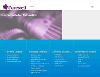 portwell.com screenshot