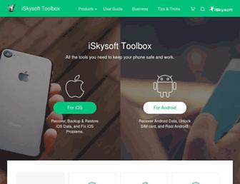 toolbox.iskysoft.com screenshot