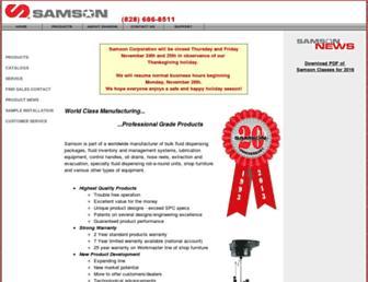 samsoncorporation.com screenshot