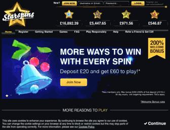 Thumbshot of Starspins.com