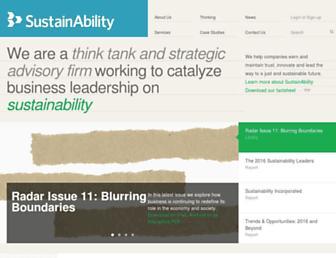 sustainability.com screenshot