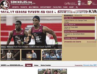 seminoles.com screenshot