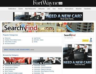 search.fortwayne.com screenshot