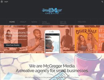 drewmcgregor.me screenshot