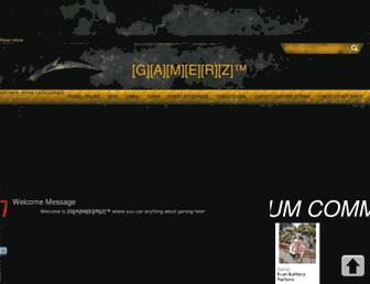 gamerz-maniac.blogspot.com screenshot