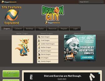 dragoncity.neggsnetwork.com screenshot