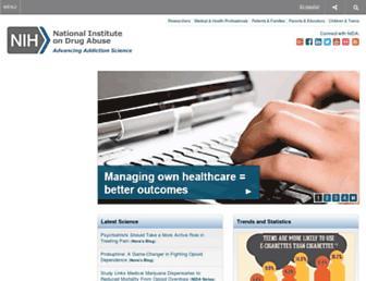 drugabuse.gov screenshot
