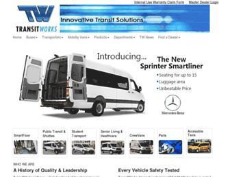 transit-works.com screenshot
