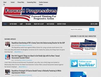 Thumbshot of Forwardprogressives.com