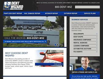 dentwizard.com screenshot