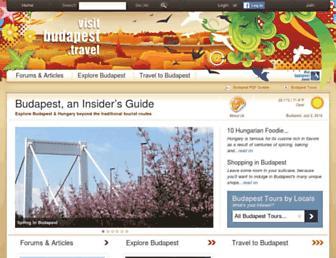 Thumbshot of Visitbudapest.travel