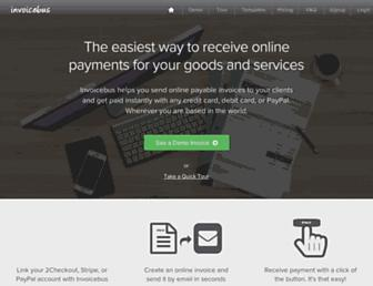 invoicebus.com screenshot