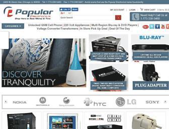 popularelect.com screenshot