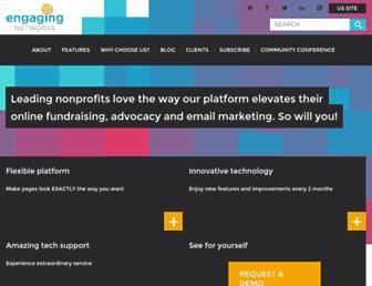 Thumbshot of Engagingnetworks.net