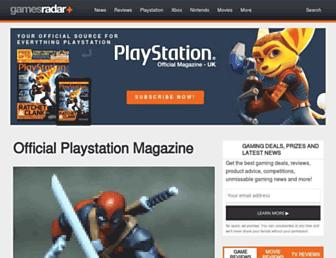 Thumbshot of Officialplaystationmagazine.co.uk