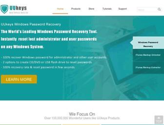 uukeys.com screenshot