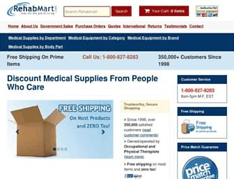 rehabmart.com screenshot