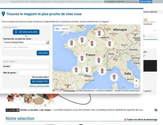 gedimat.fr screenshot