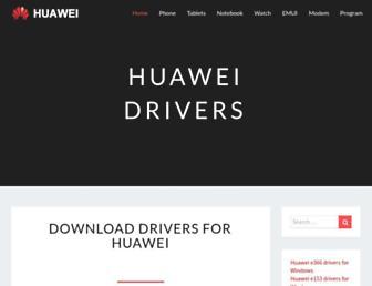 huaweidrivers.com screenshot