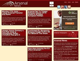 Thumbshot of Arsenalnews.co.uk