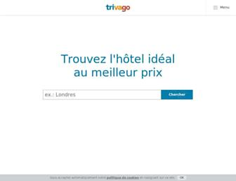 trivago.fr screenshot