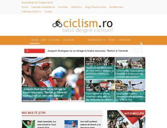 ciclism.ro screenshot