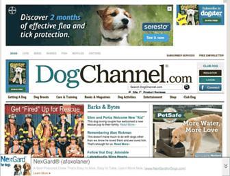 Thumbshot of Dogchannel.com