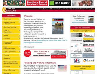 howtogermany.com screenshot