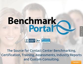 benchmarkportal.com screenshot