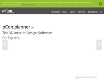 pcon-planner.com screenshot