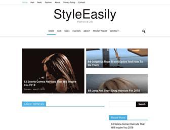 styleeasily.com screenshot
