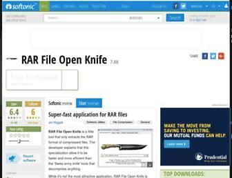 rar-file-open-knife.en.softonic.com screenshot