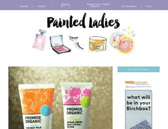 painted-ladies.com screenshot