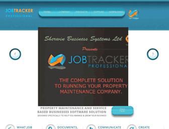 job-tracker.co.uk screenshot