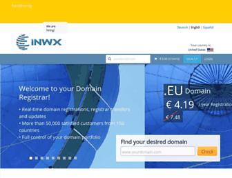 Thumbshot of Inwx.com