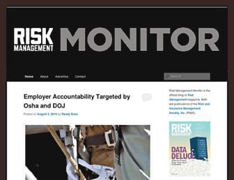 riskmanagementmonitor.com screenshot