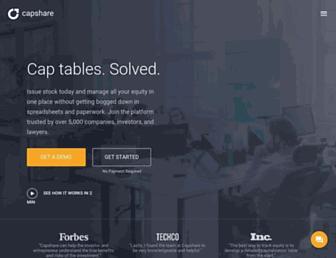 capshare.com screenshot