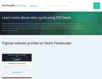 deets.feedreader.com screenshot