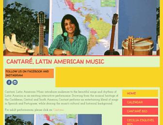 cantaremusic.com screenshot
