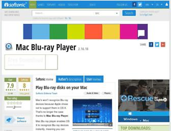 mac-blu-ray-player.en.softonic.com screenshot