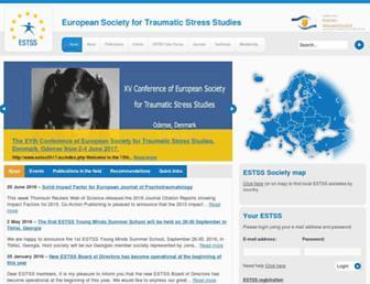 Main page screenshot of estss.org