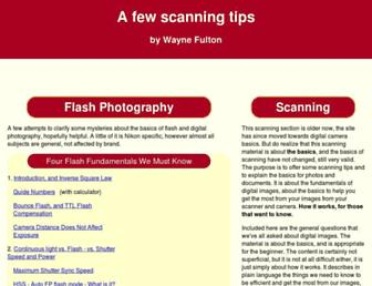 scantips.com screenshot