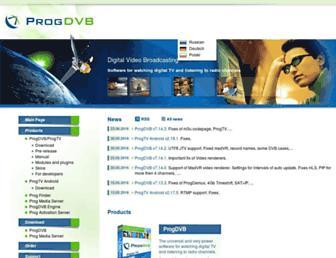progdvb.com screenshot