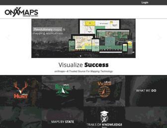 onxmaps.com screenshot